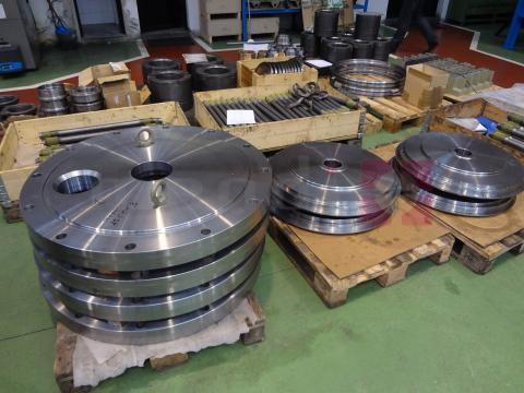 Cojín neumático/hidráulico