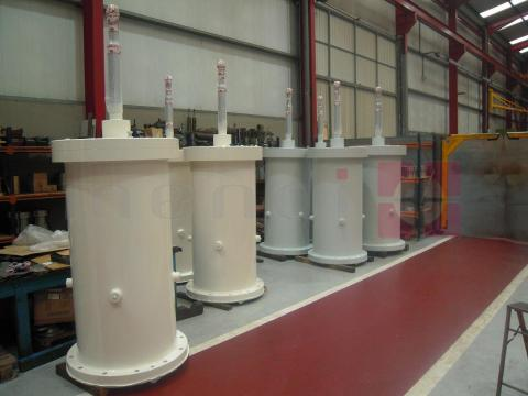 Counterbalance cylinder (ready-to-install)