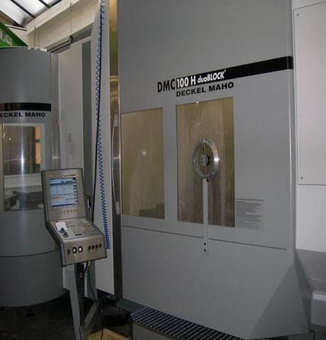 Centro de mecanizado multitarea DECKEL DMC 100 Duoblock R6
