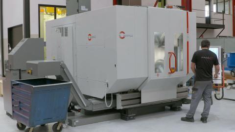 Centro de mecanizado multitarea HERMLE C42 UMT