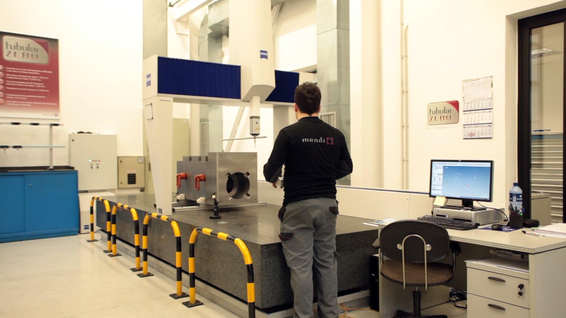 ZEISS Accura MASS Coordinate Measurement Machine installed in MENDI